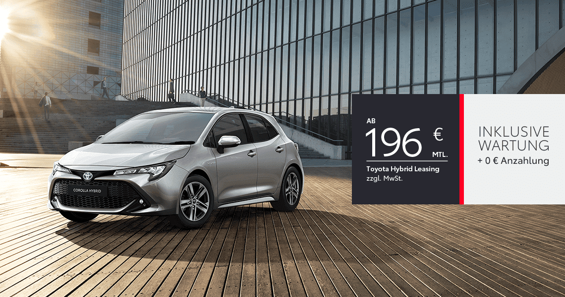 Toyota Corolla Hybrid Business Edition